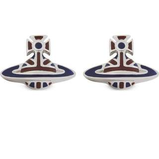 Vivienne Westwood orb stud earrings 耳環