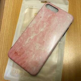 Apple iPhone 7/8 Plus 粉紅雲石保護套 Pink Phone Case