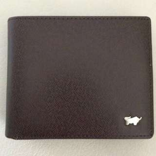Braun Buffel Double Flap Men wallet with coin compartment