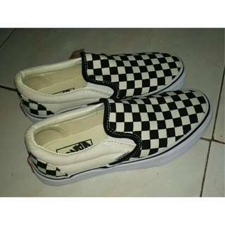 Vans Slip On Checkerboard size 7 - 9