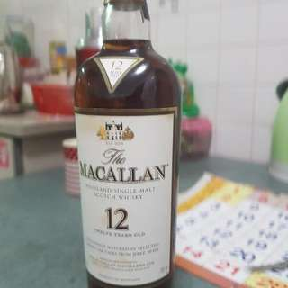 Macallan 12 Years Scotch Whisky