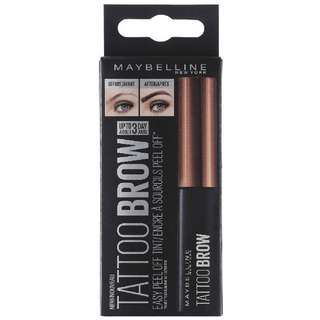 Maybelline Fashion Brow Tattoo Gel Tint (Medium Brown)