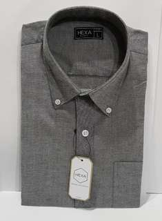 Hexa - formal shirt (lengan pendek)