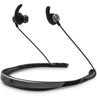 全新 JBL x UA Sport Wireless Flex 耳機 無線藍牙 LED 閃燈 有Mic 支援 iPhone Android 手機 Mobile Smartphone