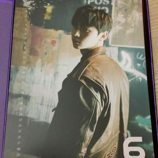 (WTT) Wanna One Nothing Without You Minhyun Calender / Ong Seungwu Standee (Purple / Wanna ver ONLY.)
