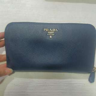 Authentic PRADA WALLET with Authenticity Card
