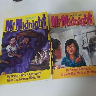 Mr Midnight Books