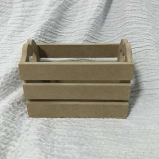 Plain Wooden Crate box