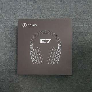 (BRAND NEW) Cowin E-7 Wireless Bluetooth Over the Ear Headphone (Black)