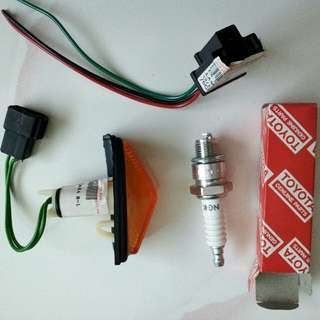 Japan Spark Plug And Signal Lamp