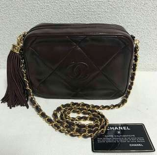 Chanel Vintage Tassel Chain Bag