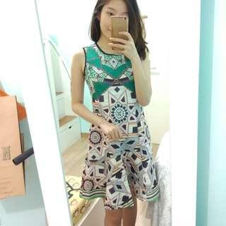 Geometric dress premium