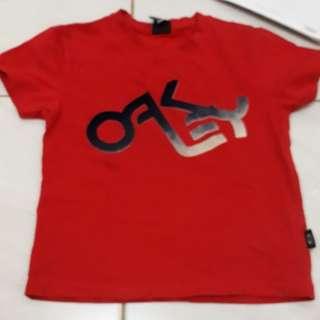 Tshirt red oakley sz 5th