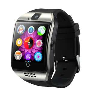 Smart Watch Q18 with Sim&TF Card Slot Push Message Camera Bluetooth Connectivity Android Phone