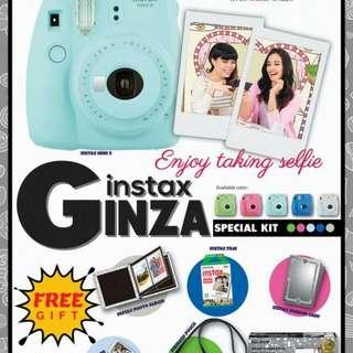 Fujifilm Instax Mini 9 Ginza Package
