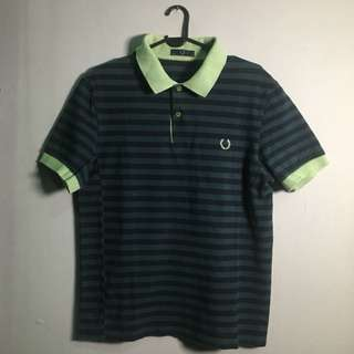 FRED PERRY Twin Tipped Polo Shirt (Made in Japan)