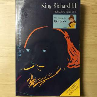 Richard the Third - The New Cambridge Shakespeare Edition