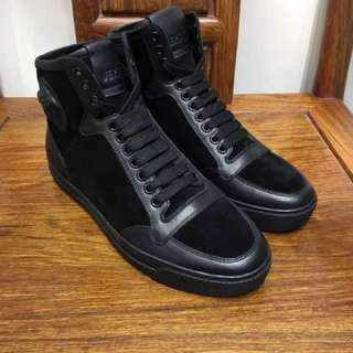 Versace High Cut Sneakers