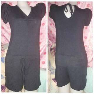 OverAll Jumpsuit Short