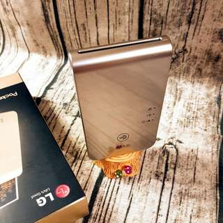 LG POCKET PD239 金色 熱感應印相機 zink無墨列印