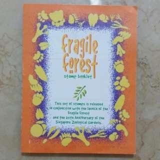 Fragile forest Stamp Booklet