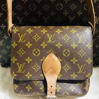 Authentic Vintage Louis Vuitton Cartouchiere PM