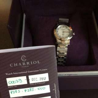 Charriol Parisii small, 28mm ladies watch
