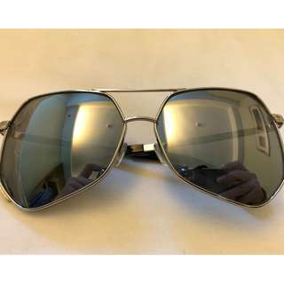 GREY ANT ITALY - SILVER SUNGLASSES