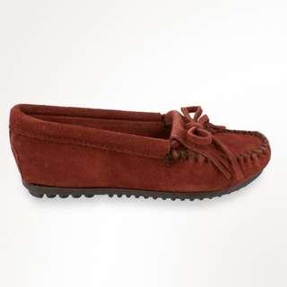 MINNETONKA MOCCASINS /  406F /  麂皮便鞋