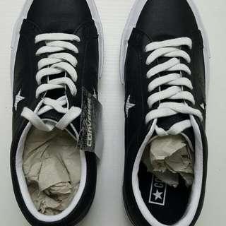 converse皮質休閒鞋