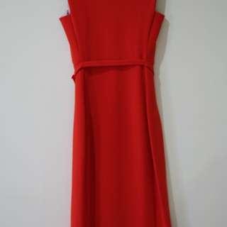 #NYB50 Authentic Diane Von Furstenberg Red Dress