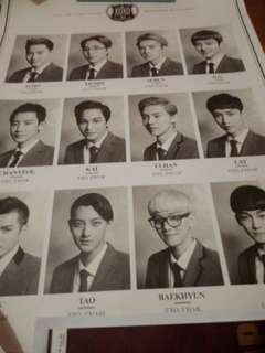 EXO WOLF OFFICIAL POSTERS