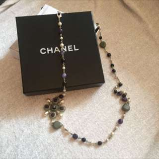 Chanel long necklace (100th anniversary edition)