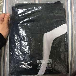 美津濃黑白長褲