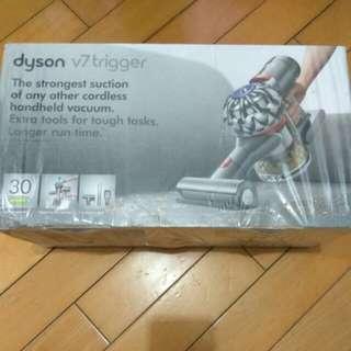 全新美版 Dyson v7 trigger 送三腳Fuse插頭, Hepa Filter