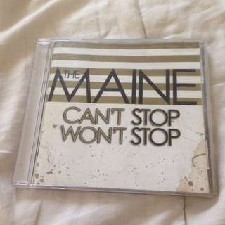 Signed The Maine Can't Stop Won't Stop album