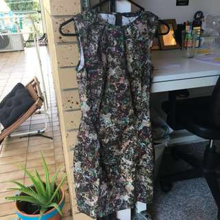 BNWOT Floral ZARA Dress