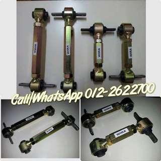 Rear Adjustable Camber Toe Arm Kits for Proton Wira Waja Satria Putra Persona Gen 2 Satria NEO Satria GTi Evo 123