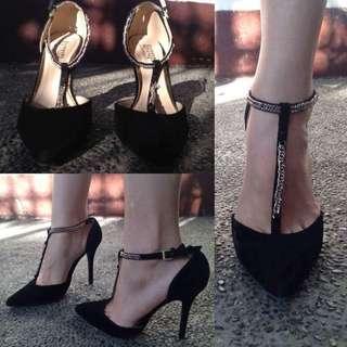 Black Pointed Heels (PrP)