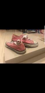 Original Converse pink shoes