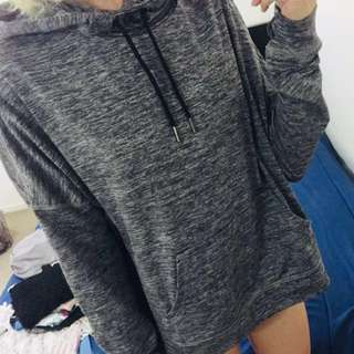 Grey jumper (cut out back)