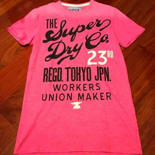 SuperDry T-Shirt (S) (慈善捐款)