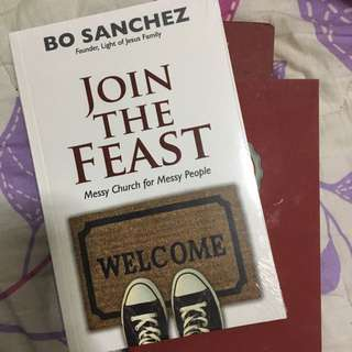 JOIN THE FEAST: MESSY CHURCH FOR MESSY PEOPLE by BO SANCHEZ BOOK