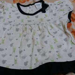 Girl shirt with 3/4pant