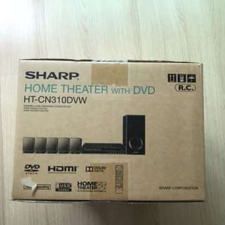 Home Theatre System with DVD