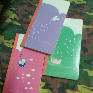 3 for Php 120 - Notebook/Journal