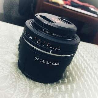 50mm Lens SONY DT 1.8/50 SAM