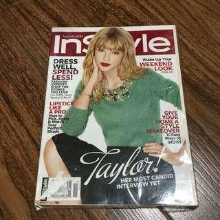 TAYLOR SWIFT InStyle Magazine