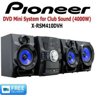 PIONEER DVD MINI AUDIO & VIDEO SYSTEM