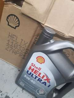 Engine Oil shell fully synthetic
